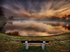 Sunday morning (Stevacek) Tags: morning mist lake fog sunrise reflections d50 landscape geotagged dawn pond nikon czech 11mm hdr gallows jicin sigma1020mm rybnik naturesfinest sidliste mlha stevacek sibenak geo:lat=5043639089200925 geo:lon=1536881473764866