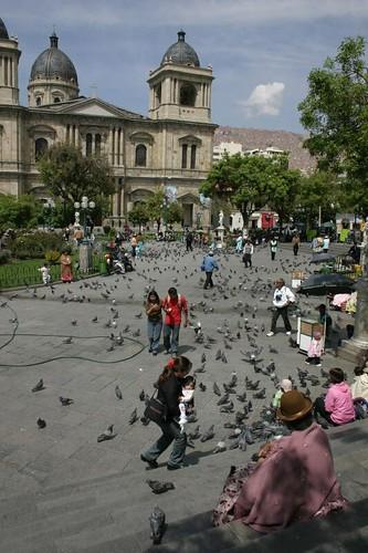 Plaza Murillo, La Paz - Bolivia.