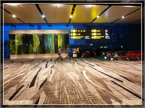 CHANGi Airport for transit (by PipperL)