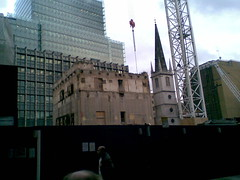 20 Fenchurch Street nearing the end of demolition