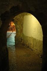 Old Passageway (WrldVoyagr) Tags: night germany deutschland cosina explore passage bielefeld voigtländer ultron40mm ultron interestingness154 cv40 explore23oct2008