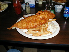 The fish fry at Wiechec's is amazing. (01/28/2000)
