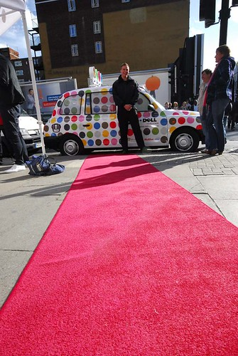 Cab and red carpet