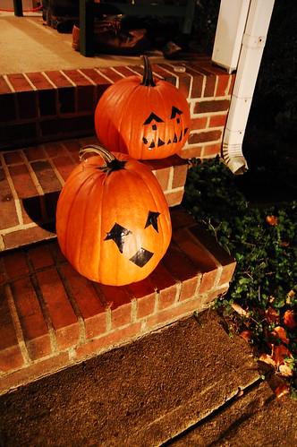 Jack-o-lanterns 2008