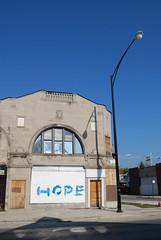 (pluma*) Tags: streetart chicago hope wheatpaste feathers feather pluma obama hopeisthethingwithfeathers election08 e08 laplumaesmasfuertequelaespada