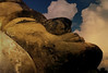 Enlightenment before his death (B℮n) Tags: topf50 laos topf100 vientiane mekongriver buddhapark supershot 100faves 50faves watxiengkhuan therecliningbuddha xiengkhuan mywinners abigfave peacefulscenery platinumphoto aplusphoto luangpu mahāparinabbāna ວັດຊຽງຄວນ วัดเซียงควน 40mhighrecliningbuddha