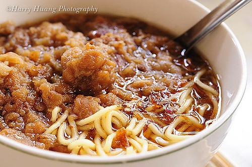 2_D302334-Tan Tzai Noodles, Taiwanese Food, Taichung County, Taiwan 豐原名食小吃-聰明擔仔麵-排骨酥麵