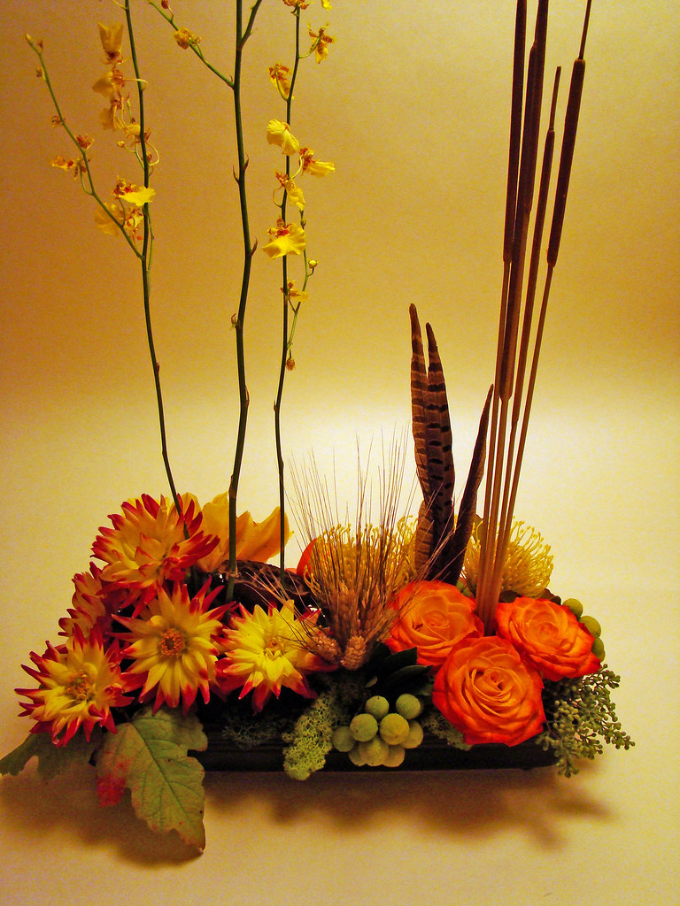 DSC02991 - autumn centerpiece