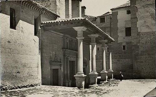 Convento de Santo Domingo el Real (Toledo) a principios del siglo XX. Foto F. M. hacia 1930