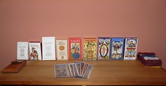 My growing Tarot collection