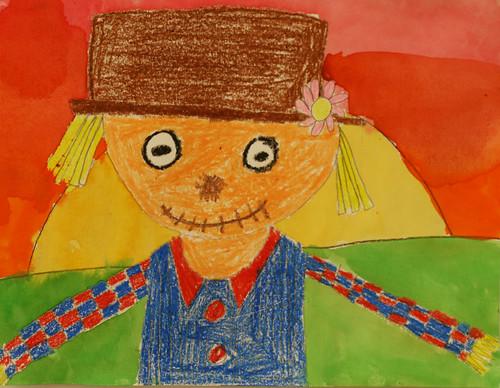 Mackenzie's scarecrow