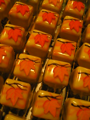 leaves petit fours