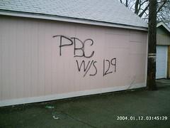 PBC (northwestgangs) Tags: spokane gangs bloods crips surenos nortenos gangsterdisciples