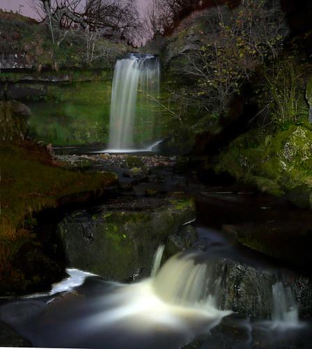Light Painting Biglees waterfall 18Nov08