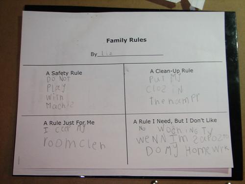 Elizabeth's Rules