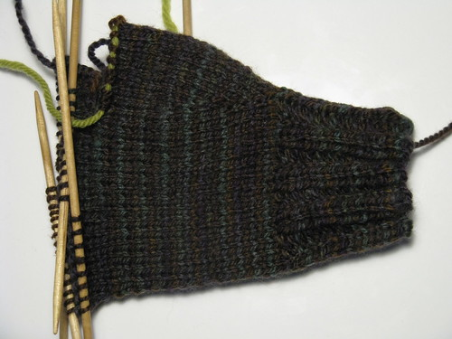 Hansel mitten in progress