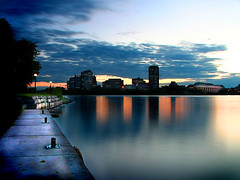 Ottawa River (ViaMoi) Tags: longexposure sunset ontario canada reflection nature water canon river photography long exposure ottawa newmedia hull blueribbonwinner 5photosaday addictedtoflickr abigfave platinumphoto anawesomeshot colorphotoaward impressedbeauty aplusphoto visiongroup diamondclassphotographer flickrdiamond frhwofavs theunforgettablepictures betterthangood viamoi goldstaraward gateneau damniwishidtakenthat flickrlovers 100commentgroup