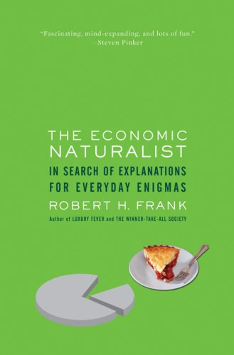economic naturalist The economic naturalist shows how simple economic principles help answer such diverse questions as these: why does a $500 tuxedo rent for $90 a day while a $20,000 car rents for only $40.