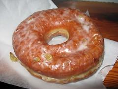 Doughnut Plant: Roasted chestnut doughnut