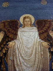 angel mosaic (ildarabbit) Tags: trip travel hot detail dusty church angel religious israel three tents site god mosaic sandy jesus towers mount holy moses silence spiritual 2008 homage elijah pilgrimage prophet tabo holyland whitelight mounttabor threetowers churchofthetransfiguration tranfiguration