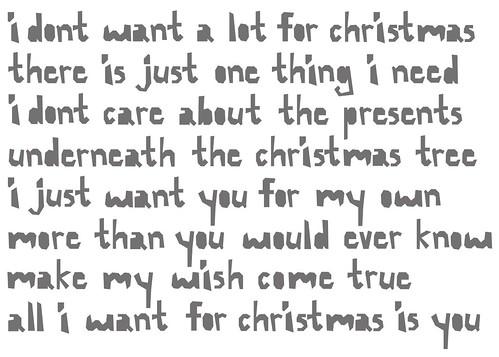 i want you for christmas - I Want You For Christmas