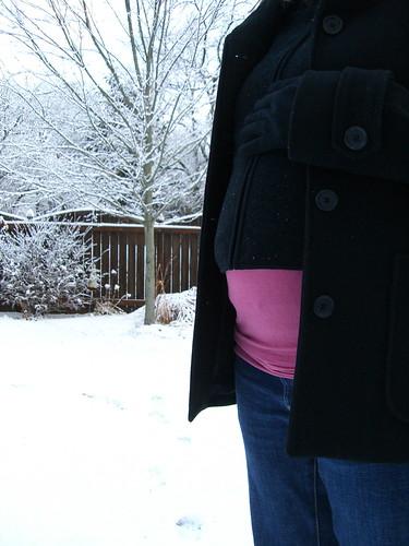 24 week belly bump