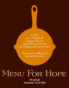 Chez Menu for Hope Logo