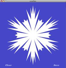 Snowflake generator