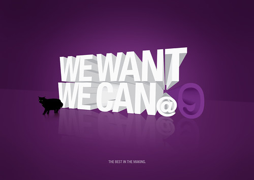 we want we can @ 9