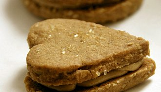 Sunflower Butter Cookie Sandwiches