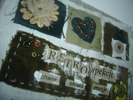 album, cover page, details