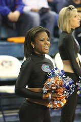 Gator Dazzlers (dbadair) Tags: dennis adair canon wildlife sports gators basketball florida gainesville tierra verde uf dazzlers cheerleaders cheer gator ncaa sec