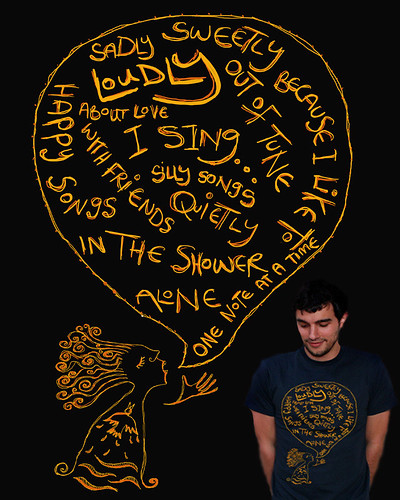 I sing... threadless submission