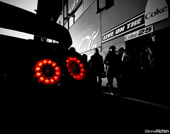 GT-R. (Denniske) Tags: auto light sky detail macro up car skyline digital race canon eos rebel lights december nissan close angle belgium events rear wide belgi sigma voiture racing f r be coloring 28 mm 12 gt dennis 35 2008 circuit 1020 limit colouring 08 limburg selective 456 gtr zolder bwcolor noten carspotting bwcolour r35 f456 xti 400d skylimit denniske dennisnoten trakckday 281208