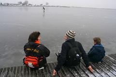 Schaatsen aan de Rottemeren (Marianne de Wit) Tags: winter ice dutch landscape wintertime dutchlandscape dutchwinter schaatsen scating rottemeren nationalparkdehogeveluwe digifotoproaward nederlandsewinter nederlandselandschappen