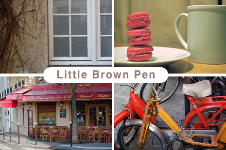 little brown pen