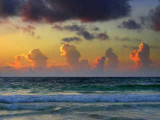 Tulum at dawn