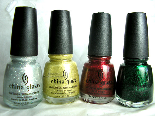 China Glaze Love You Snow Much Collection