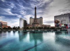 2011 Las Vegas 033-2 (TVGuy) Tags: las vegas paris reflection tower water pool nevada eiffel casino bellagio