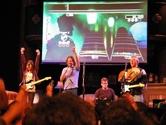 Jonathan Coulton's GlaDOS Rock Band (Crashworks) Tags: veronicabelmont greatamericanmusichall merlinmann rockband jonathancoulton coulton leolaporte stillalive upcoming:event=402850