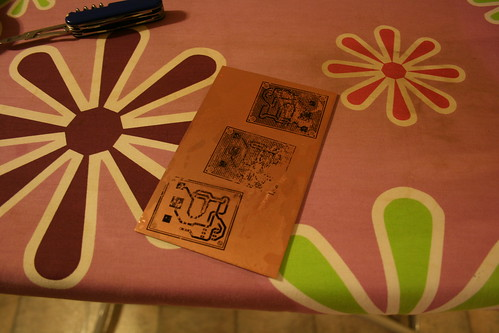 Making PCBs at home, Step 9: Nor were the other 6.