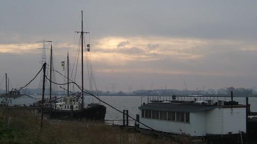 Près du port d'Amsterdam