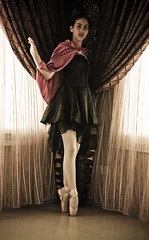 Urban Ballerina-9917 (Ms. Soccer_Roo) Tags: urban ballet girl dance ballerina sister daughter dancer cape pointe amani tutu littlered