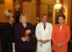 Louis Mariette, Janet Dean MP, Dr Hughes & Lady Anson