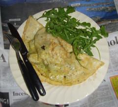 sorrel omelette