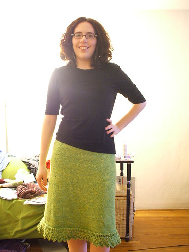 sawtooth skirt