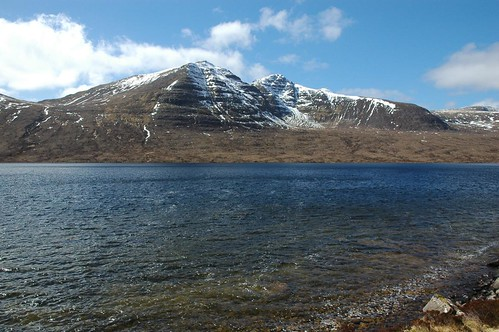 Baosbheinn across Loch na h-Oidhche