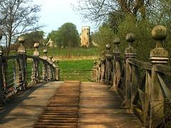 The Bridge to the Folly (saxonfenken) Tags: bridge england cambridgeshire folly wimpolehall e510 challengeyou challengeyouwinner infinestyle thechallengefactory challengefactory yourock1stplace