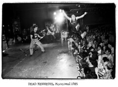 Dead Kennedys 1985 (DawnOne) Tags: copyright music toronto dead dawn punk audience photos montreal stage diving bands linda 80s 70s kennedys jello 1985 hammond biafra