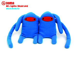 Blue Gordo // Plush doll